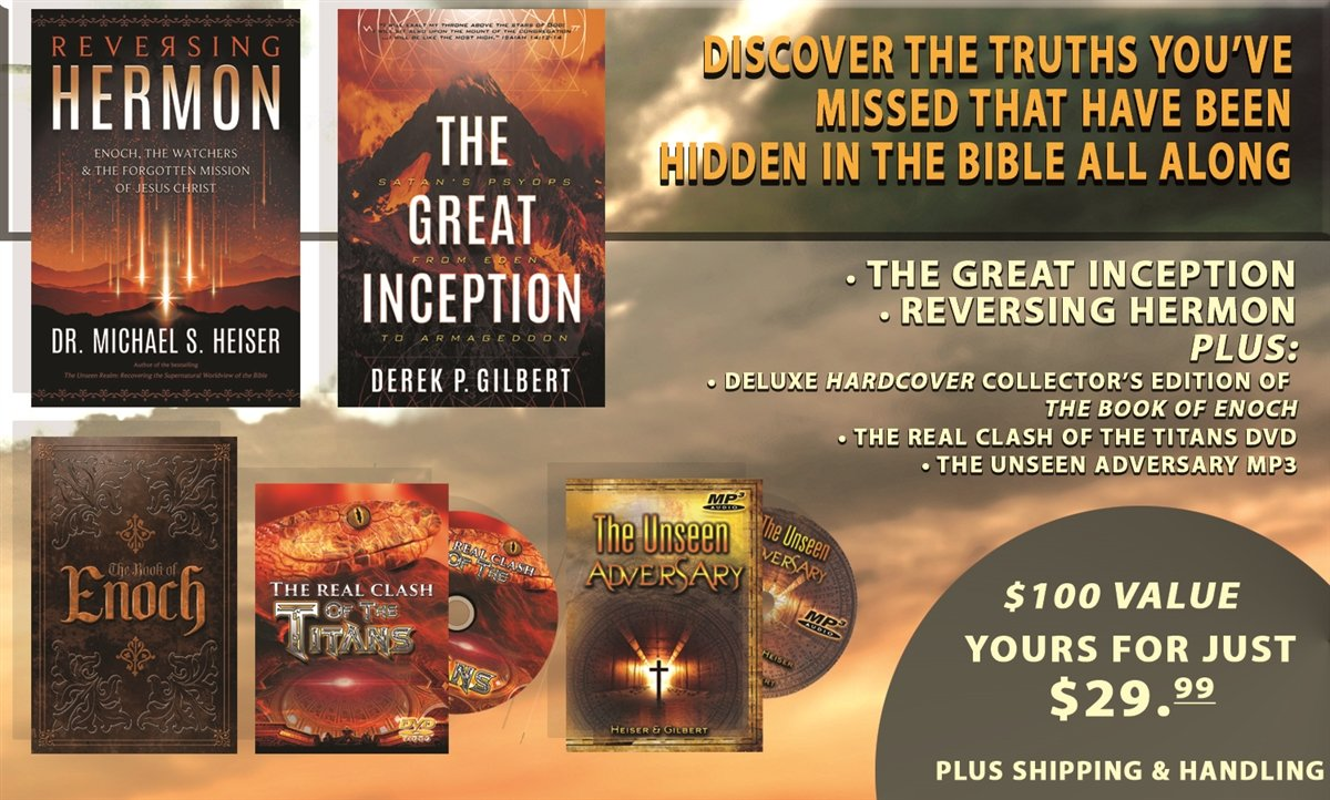 NEW MONTH-LONG SPECIAL INVESTIGATIVE REPORT CONTINUES THIS WEEK ON SKYWATCH TV (INCLUDES FREE DELUXE HARDBACK COLLECTORS EDITION OF THE BOOK OF ENOCH AND MORE FREE GIFTS!)