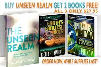 FREE! 2 BOOKS WITH DR. MICHAEL HEISER'S NEW