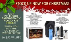 FREE EMERGENCY FOOD, FREE WATER PURIFICATION SYSTEMS, FREE GEAR & MORE FOR LIMITED TIME (JUST ONE EXAMPLE BELOW - CLICK HERE TO SEE MORE!)