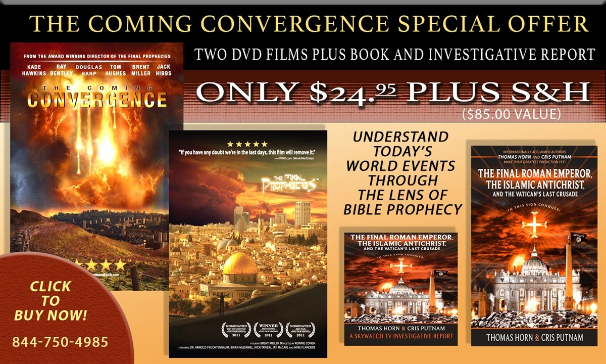 """FREE MOVIE, FREE BOOK, FREE INVESTIGATIVE SERIES WITH NEW """"THE COMING CONVERGENCE""""!"""