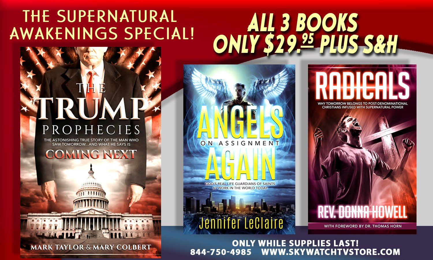 THE WORLD IS NOT READY FOR WHAT THE FIREMAN SAYS IS COMING NEXT! WILL YOU BE!? ORDER THE SUPERNATURAL AWAKENINGS AT A HUGE DISCOUNT AND GET READY FOR STARTLING REVELATIONS!