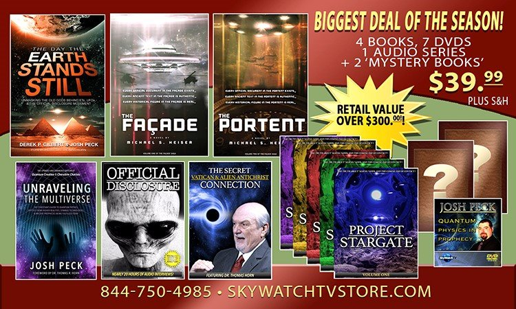 $300.00 IN FREE BOOKS, FREE DVDS, FREE AUDIO SERIES & MORE JUST IN TIME FOR CHRISTMAS!