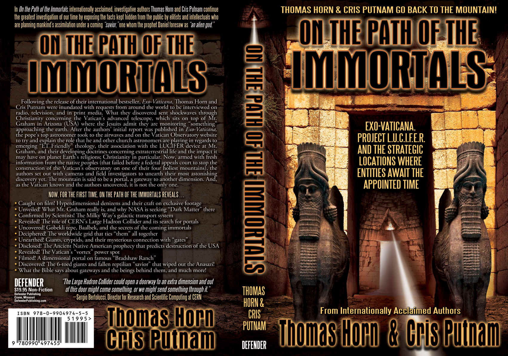 COMING IN MAY -- ON THE PATH OF THE IMMORTALS!