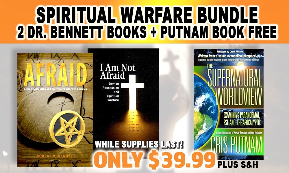 GET BOTH OF DR. BENNET'S BREAKTHROUGH BOOKS AND WE'LL INCLUDE CRIS PUTNAM'S IMPORTANT WORK FREE!