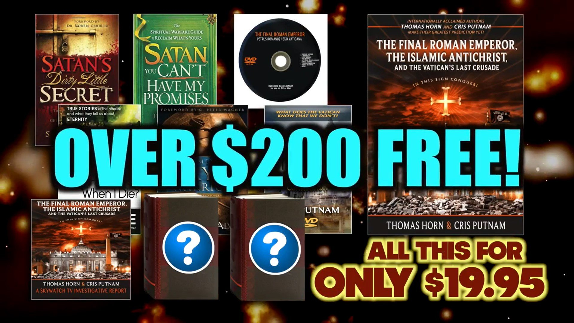 THE BIGGEST GIVEAWAY OF 2016 HAS BEGUN! TO INCLUDE FREE BOOKS, FREE DVDS, FREE DIGITAL LIBRARIES, SECRET WIKI-LEAKS FILES & MORE (WATCH VIDEO)!