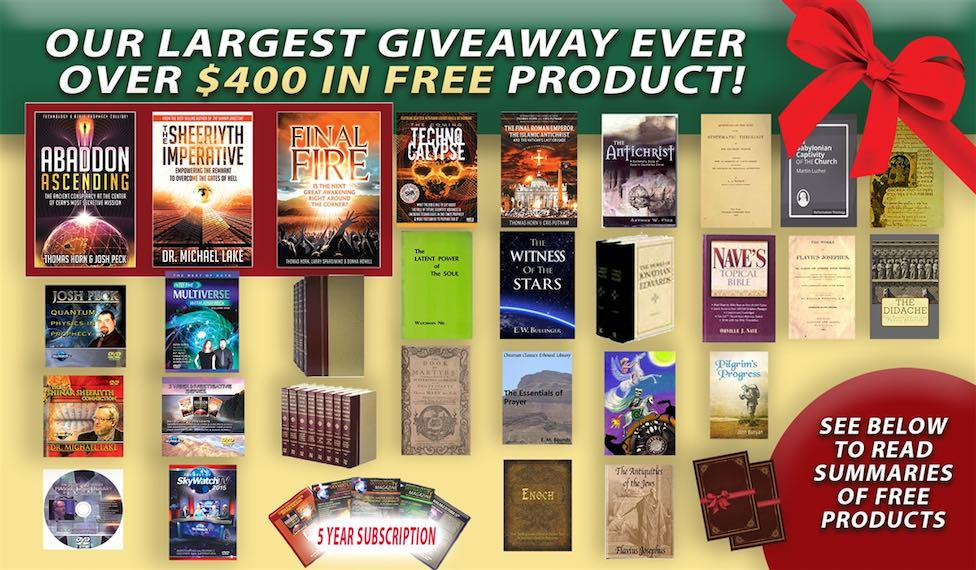 OUR BIGGEST GIVEAWAY EVER TO BE REMOVED SOON! OVER $400.00 IN FREE MERCHANDISE!