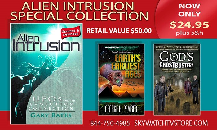 "FREE BOOKS WITH ""THE ALIEN INTRUSION"" SPECIAL COLLECTION!"