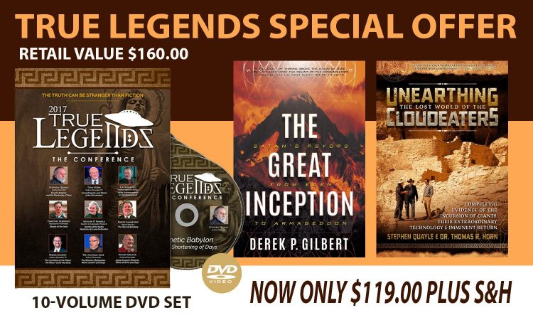 FREE BOOKS FOR A VERY LIMITED TIME WITH THE TRUE LEGENDS 10-VOLUME DVD COLLECTION!