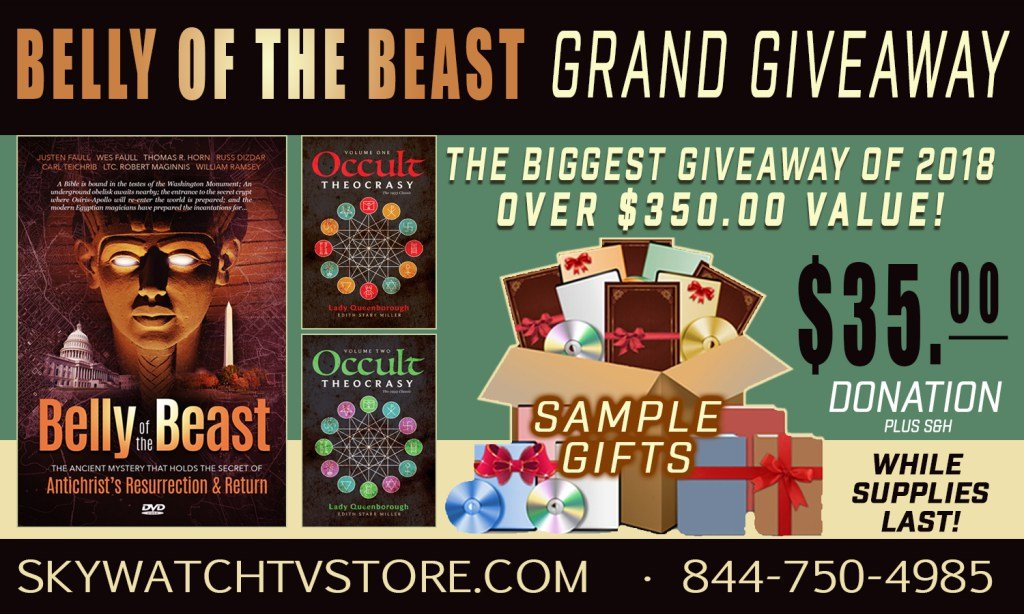 "IT'S THE BIGGEST GIVEAWAY OF 2018! OVER $350.00 IN FREE GIFTS WITH ""THE BELLY OF THE BEAST""!"