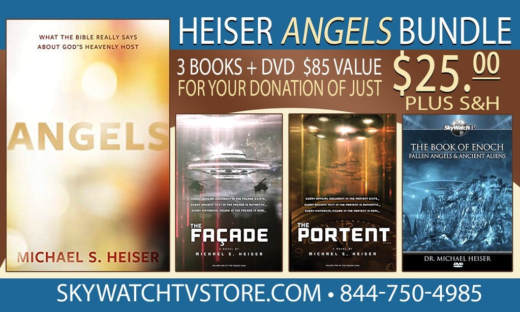 "PURCHASE MICHAEL HEISER'S NEWEST BOOK ""ANGELS"", AND ALSO RECEIVE 'THE BOOK OF ENOCH', 'THE PORTANT' & ' THE FACADE' FREE!"