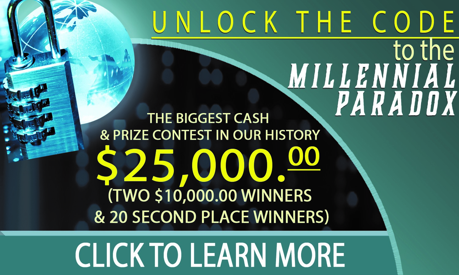 THE BIGGEST CASH GIVEAWAY IN OUR HISTORY! OVER $25,000.00 TO 22 WINNERS!