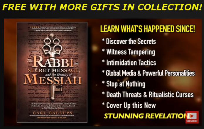 "FREE! GET ""THE RABBI, THE SECRET MESSAGE, AND THE IDENTITY OF MESSIAH"" FREE WITH COLLECTION!"