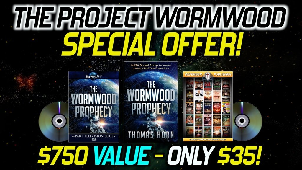FREE WITH WORMWOOD! OVER $750 IN MERCHANDISE TO GIVE AWAY OR KEEP FOR YOURSELF!!!
