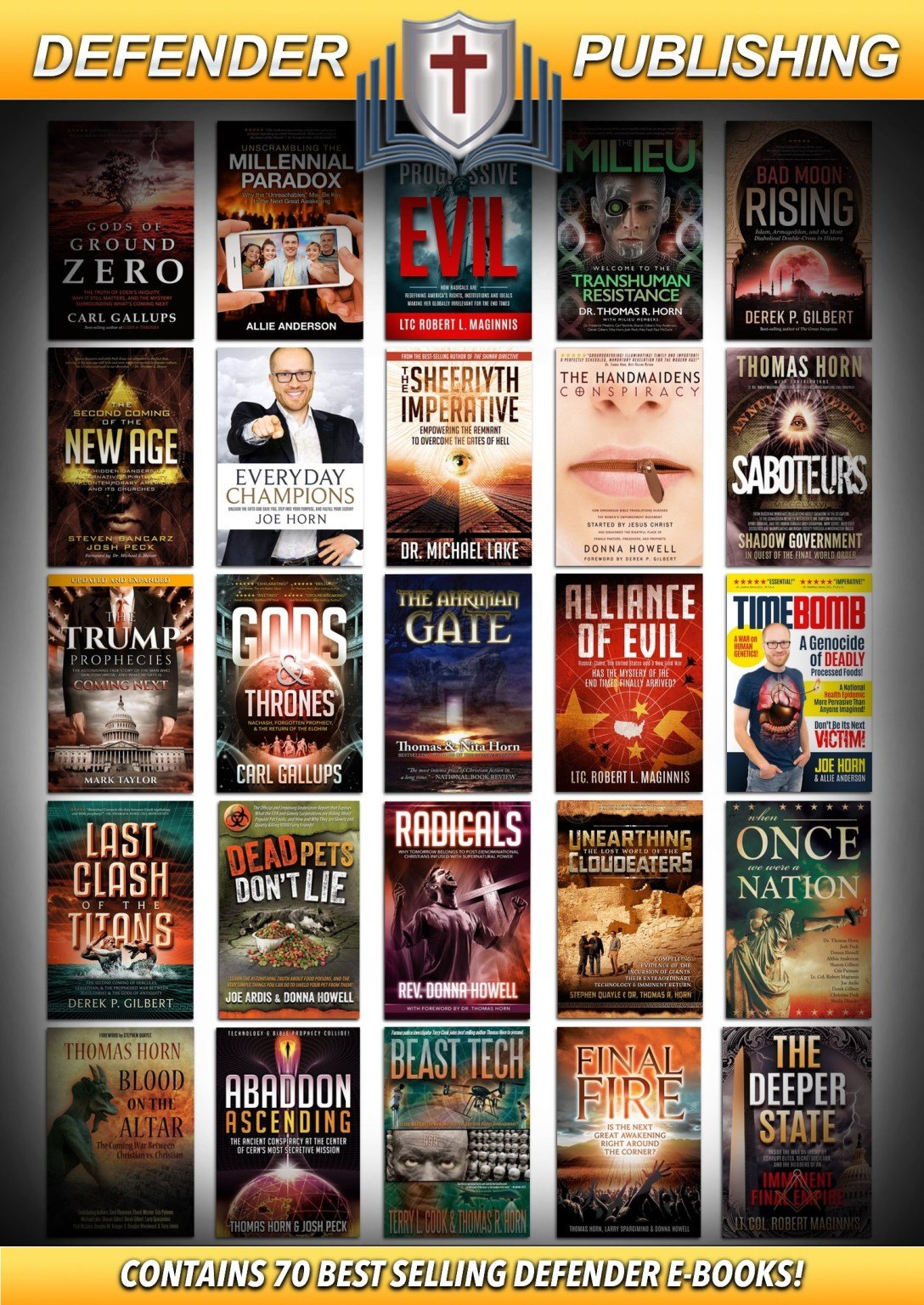 FREE! OVER 70 BEST-SELLING FILMS, BOOKS, & LIBRARIES FOR WHILE YOU SHELTER IN PLACE!