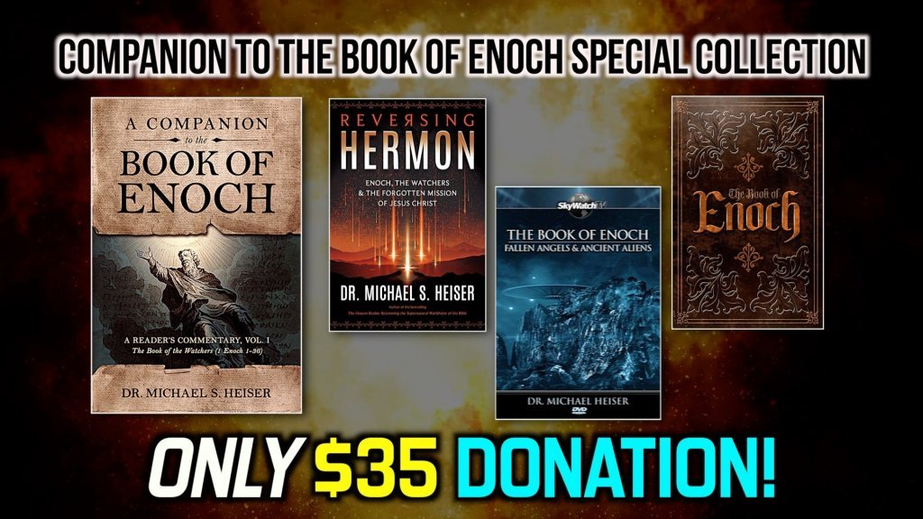 FREE FOR A LIMITED TIME! GET THE DELUXE HARDBACK BOOK OF ENOCH AND OTHER GIFTS WITH DR. MICHAEL HEISER'S NEW ENOCH COMPANION COMMENTARY!
