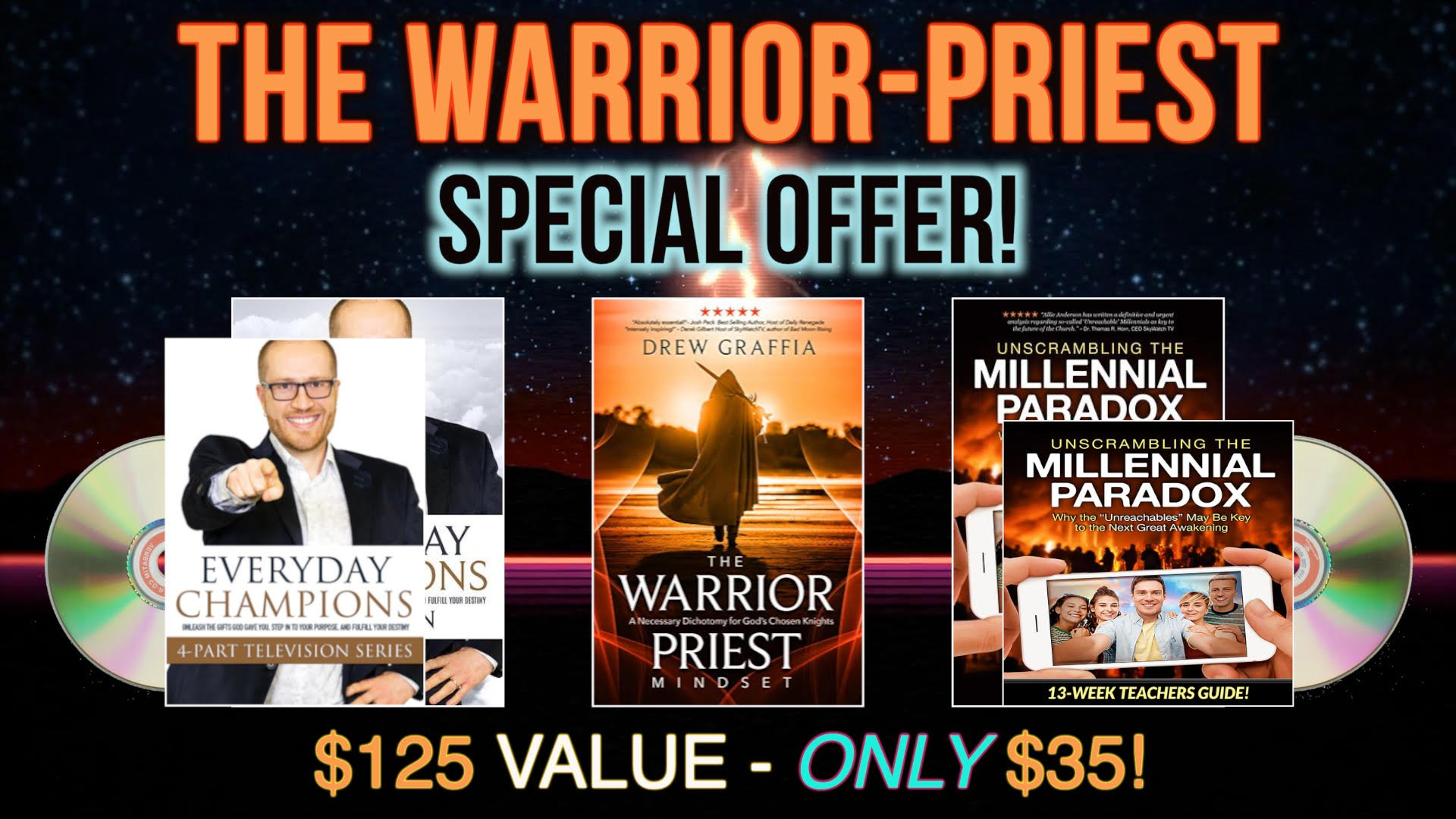 "LEARN SECRETS OF ""THE DUAL MESSIAH"" PROPHECY AND YOUR DESTINY TO BE A WARRIOR PRIEST!"