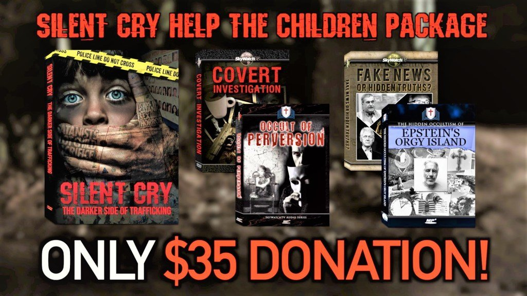 FREE! HELP THE CHILDREN AND RECEIVE THE NEW GROUNDBREAKING DOCUMENTARY PLUS FREE GIFTS!