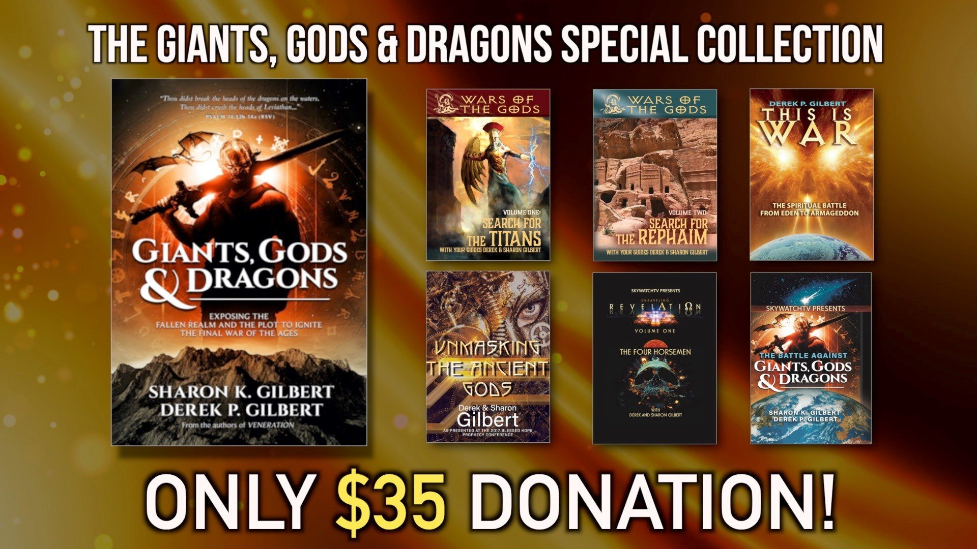FREE! OVER $200.00 IN FREE DVDS WITH THE GROUNDBREAKING NEW BOOK
