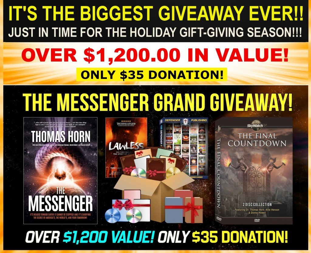 """GET DR. THOMAS HORN'S 2020 VIRTUAL CONFERENCE EXPOSE ON POPE FRANCIS AND IDENTIFICATION OF THE FALSE PROPHET FREE IN """"THE MESSENGER MEGA-GIVEAWAY"""""""