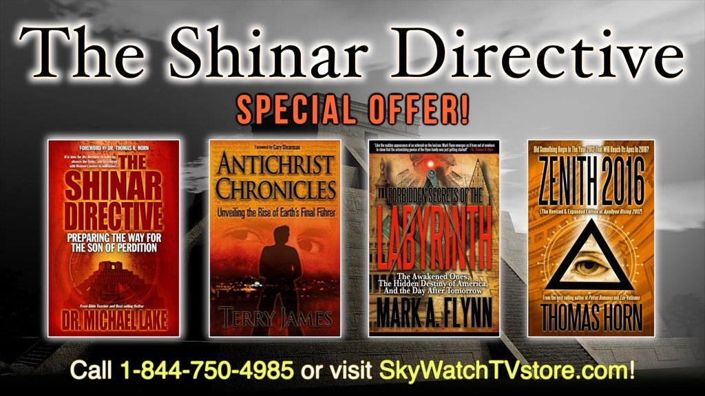 GET ZENITH 2016 AND TWO MORE BOOKS FREE WITH THE SHINAR DIRECTIVE!