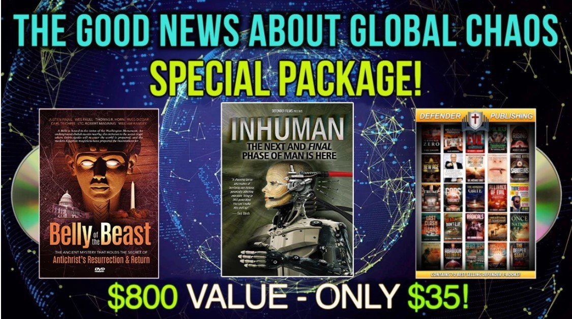 FREE!  GET THE DOCUMENTARY PLUS $800 OF FREE MERCHANDISE IN LIMITED TIME OFFER!